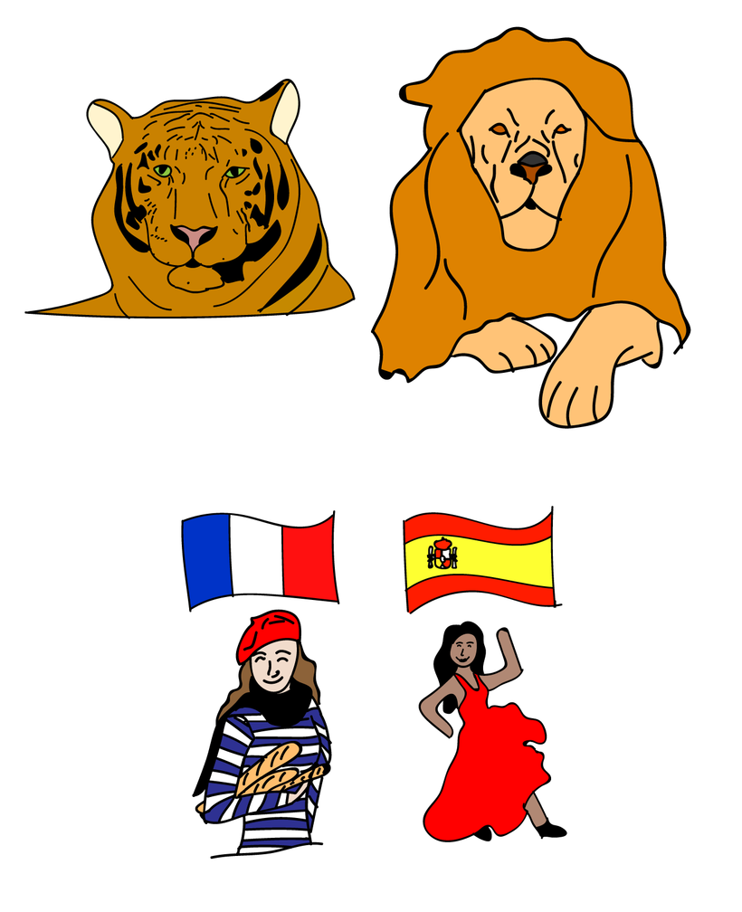 Lonely languages mother tongues. Language clipart dialect