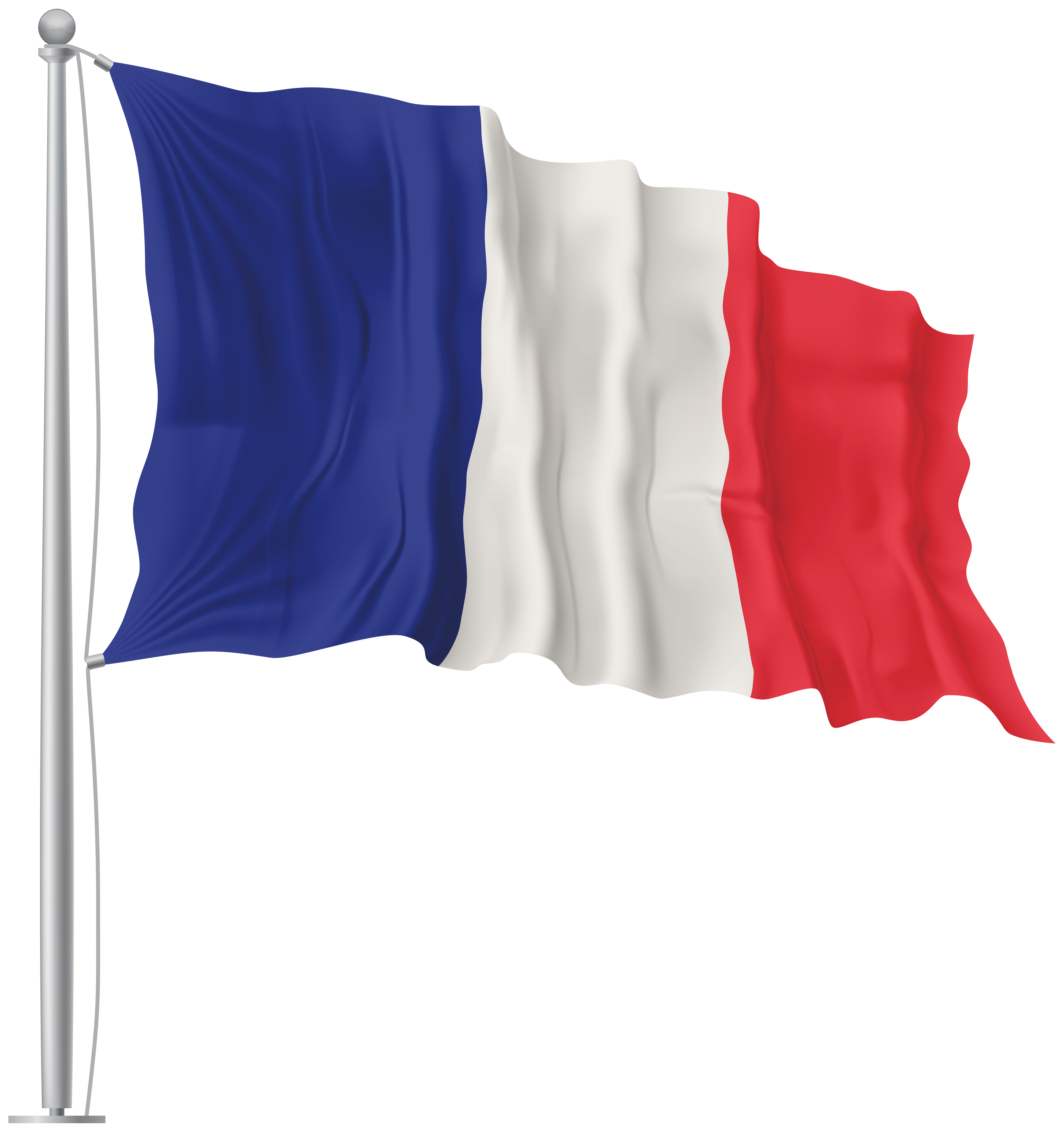 France clipart flag. Waving png image gallery