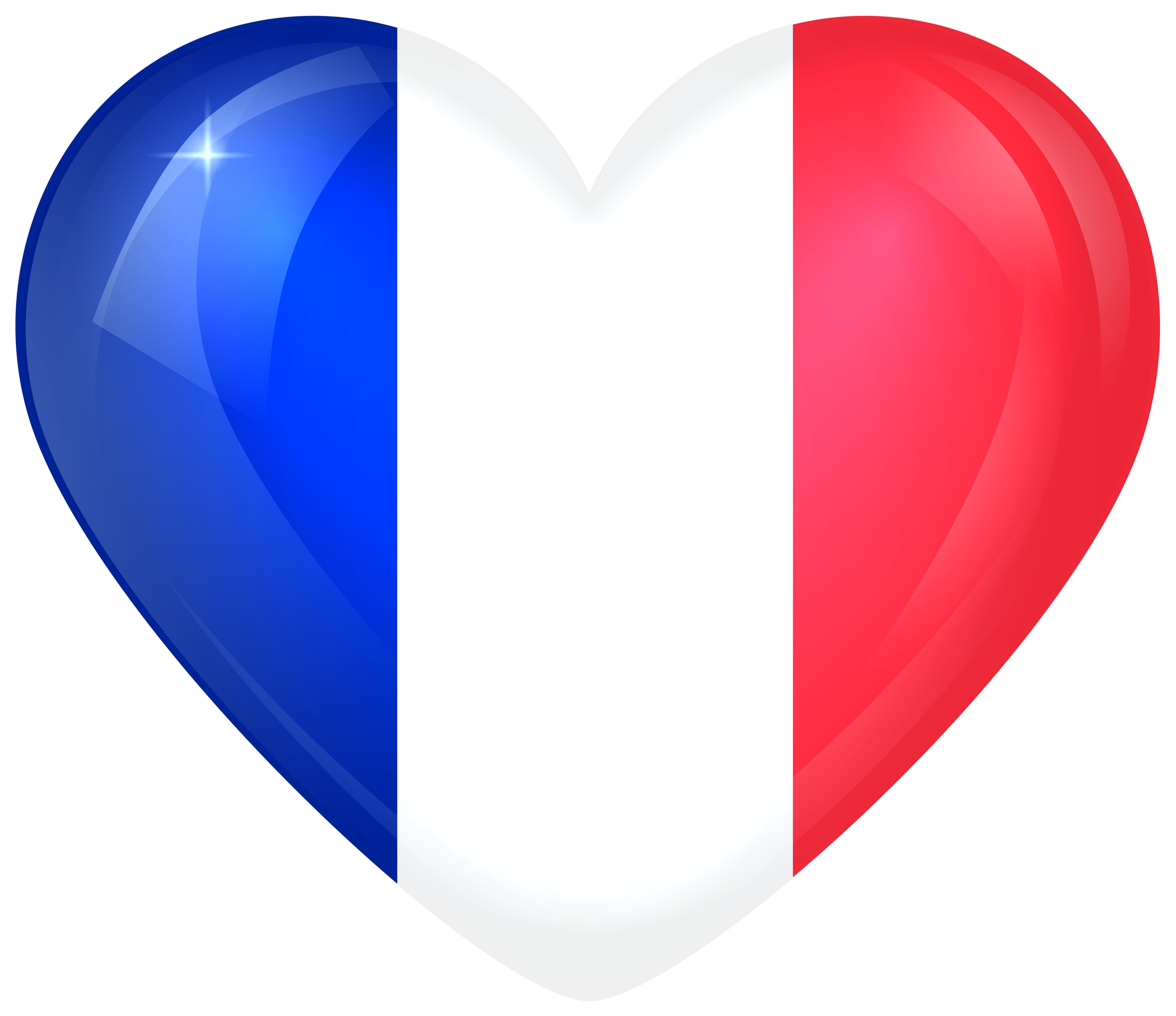 France large gallery yopriceville. Heart clipart flag