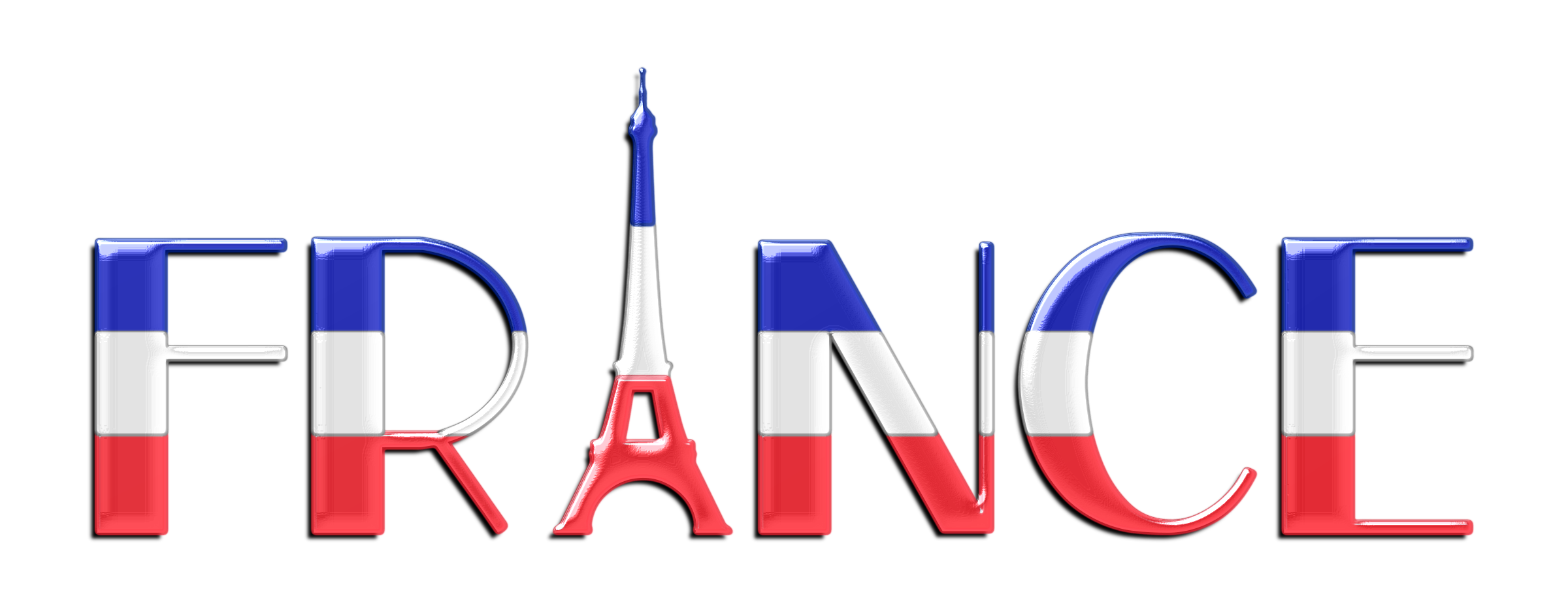 France clipart fractal. Typography enhanced icons png