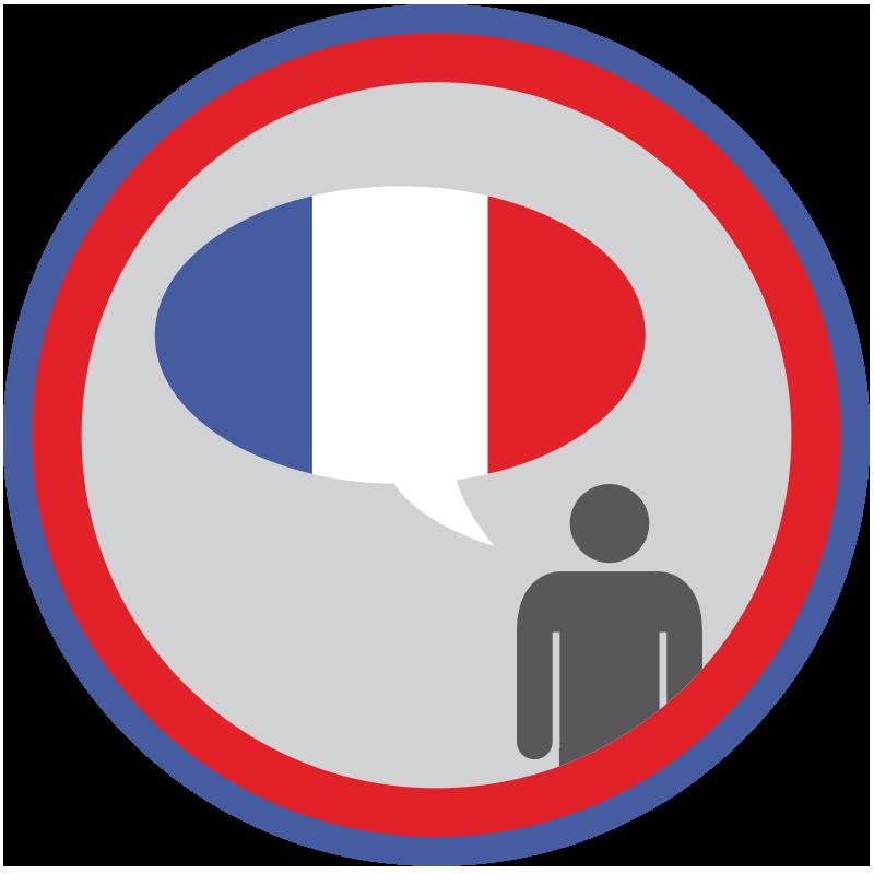 France clipart french lesson. Lifescouts language badge pinterest