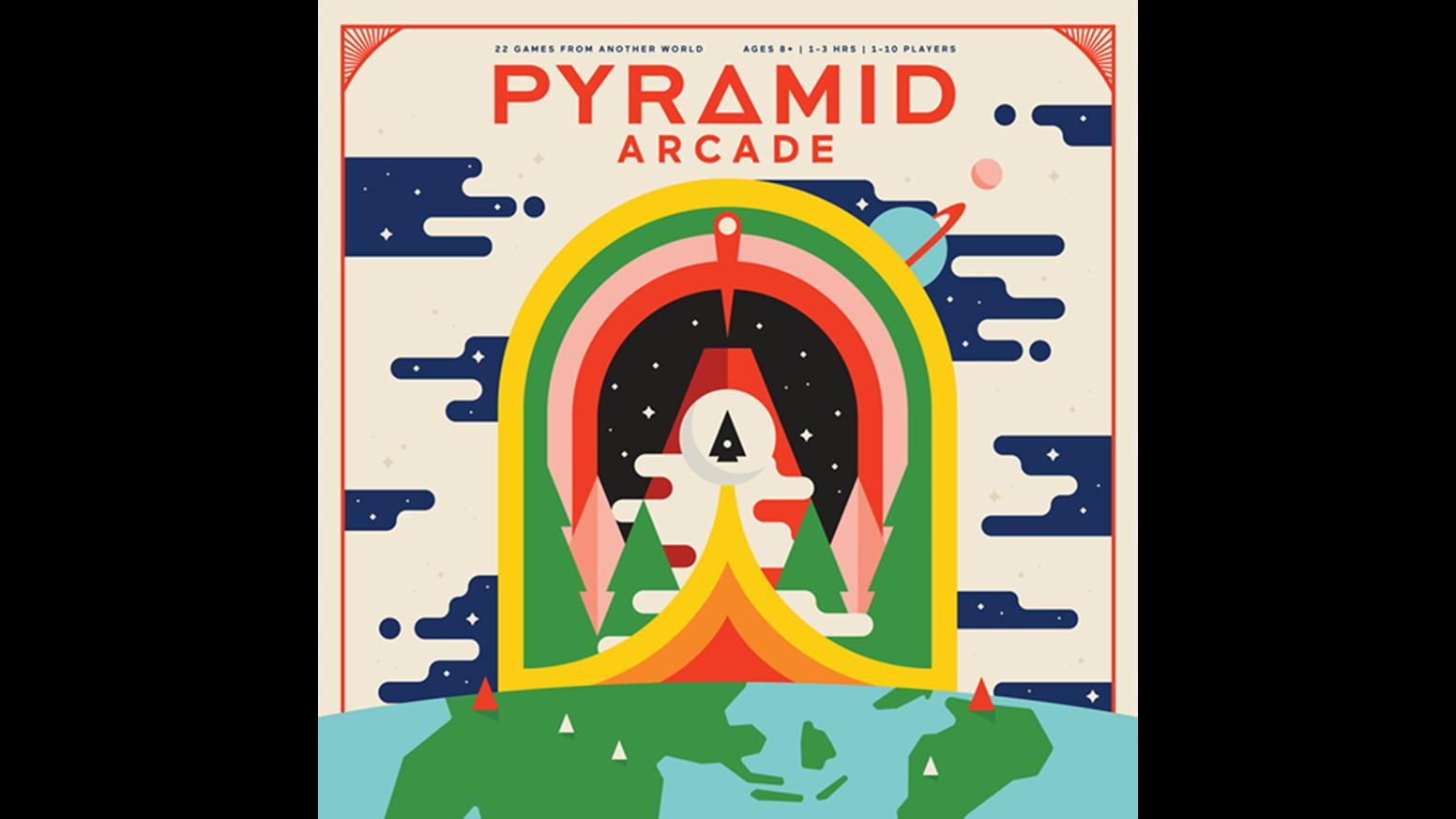 Pyramid arcade pyramids endless. Games clipart deck card
