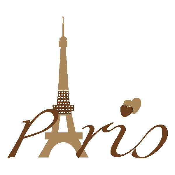 Vinilos decorativos par s. French clipart typography
