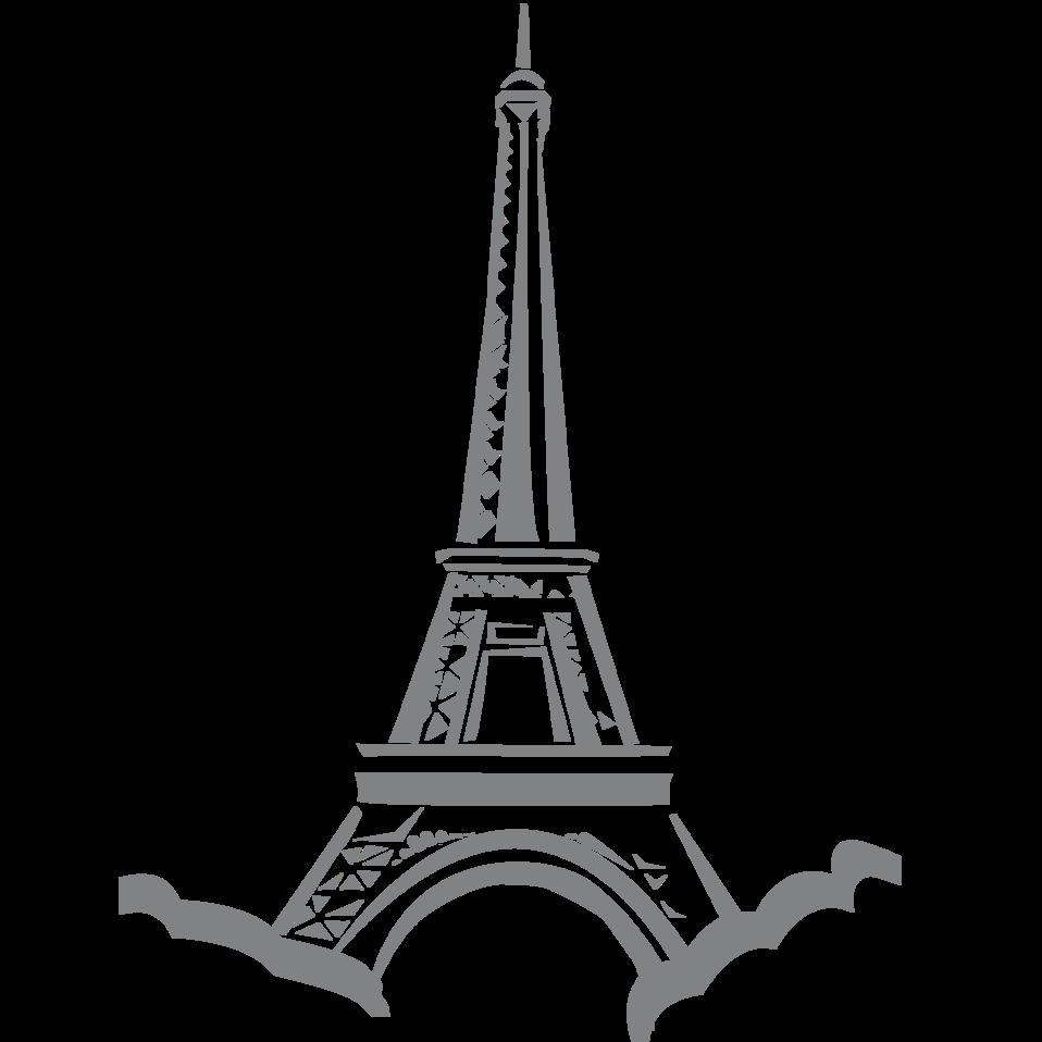 Public domain clip art. France clipart illustration