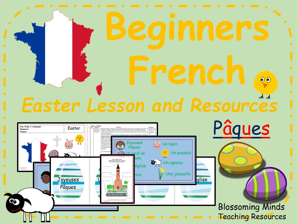 P cques easter lesson. French clipart ks2