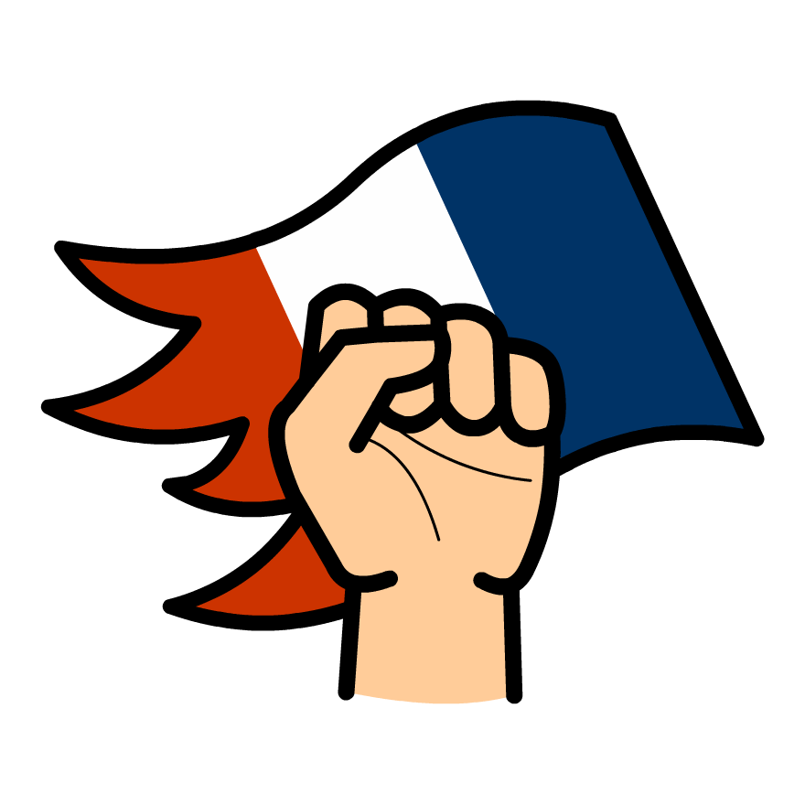 History clipart person france. Time zone x french