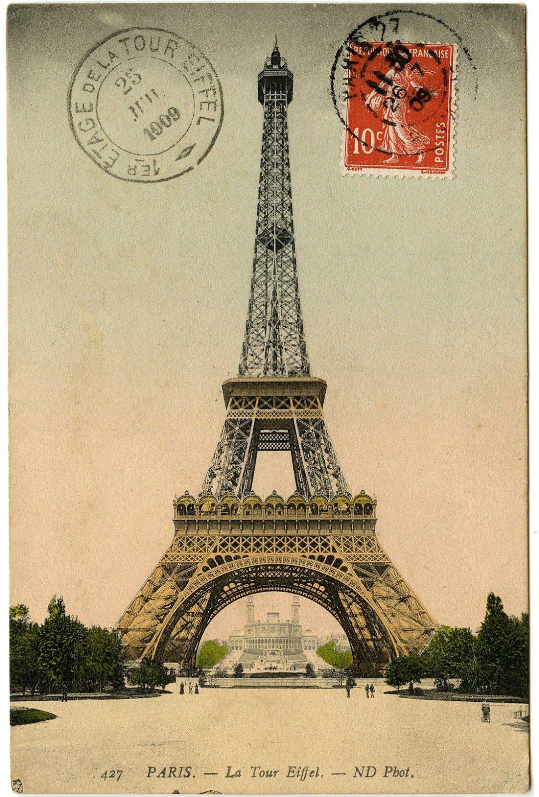 France clipart paris vintage.  eiffel tower clip