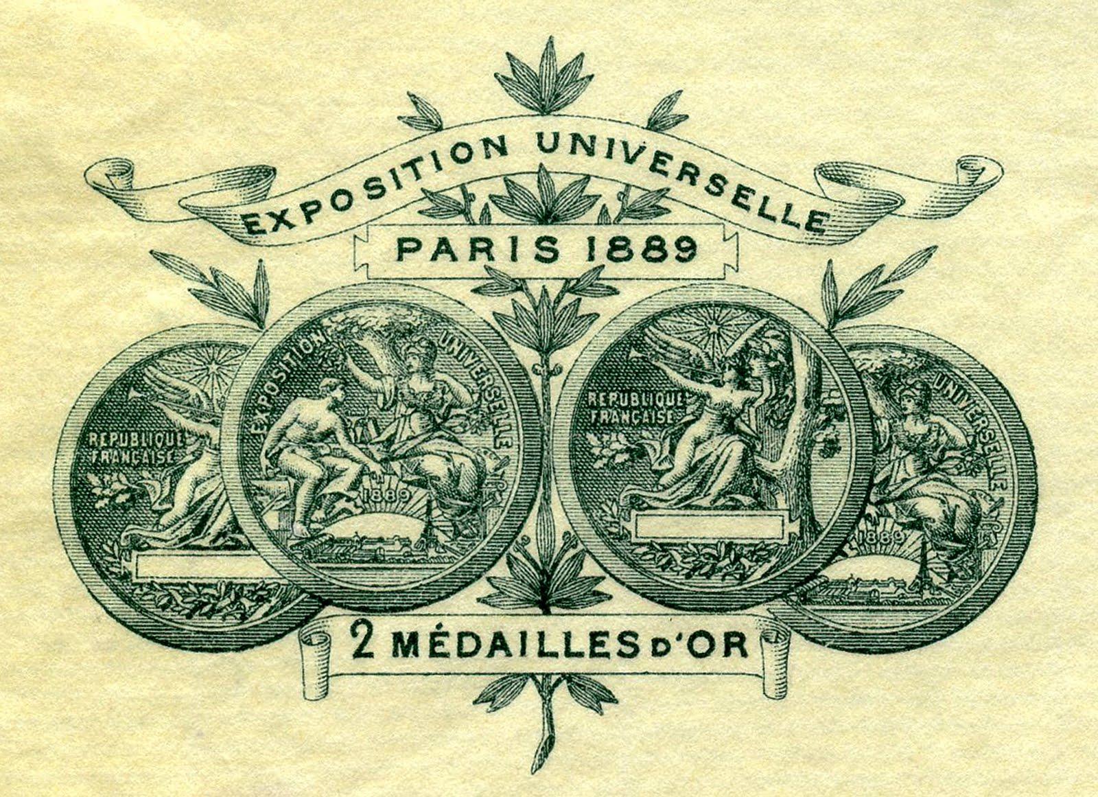 Paris clipart ephemera. Vintage clip art frame