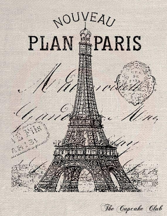 France clipart paris vintage. French clip art design