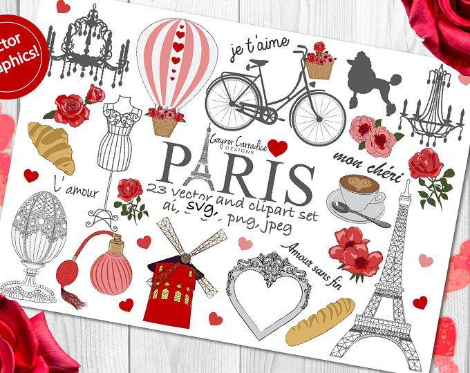 French clipart love. Paris clip art france