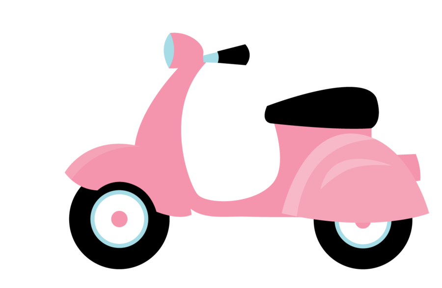 Pin by amy on. Scooter clipart cute