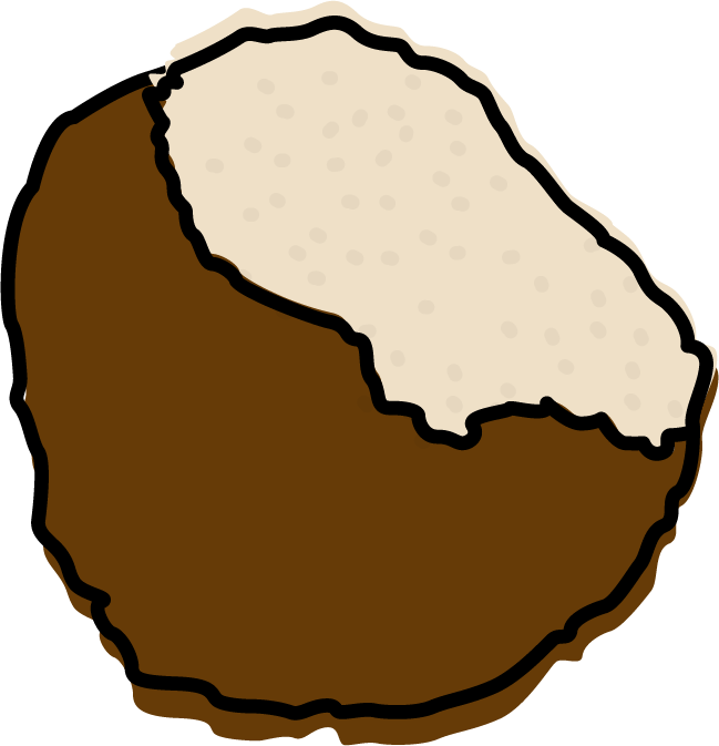France clipart pastery. Truffle ice cream from