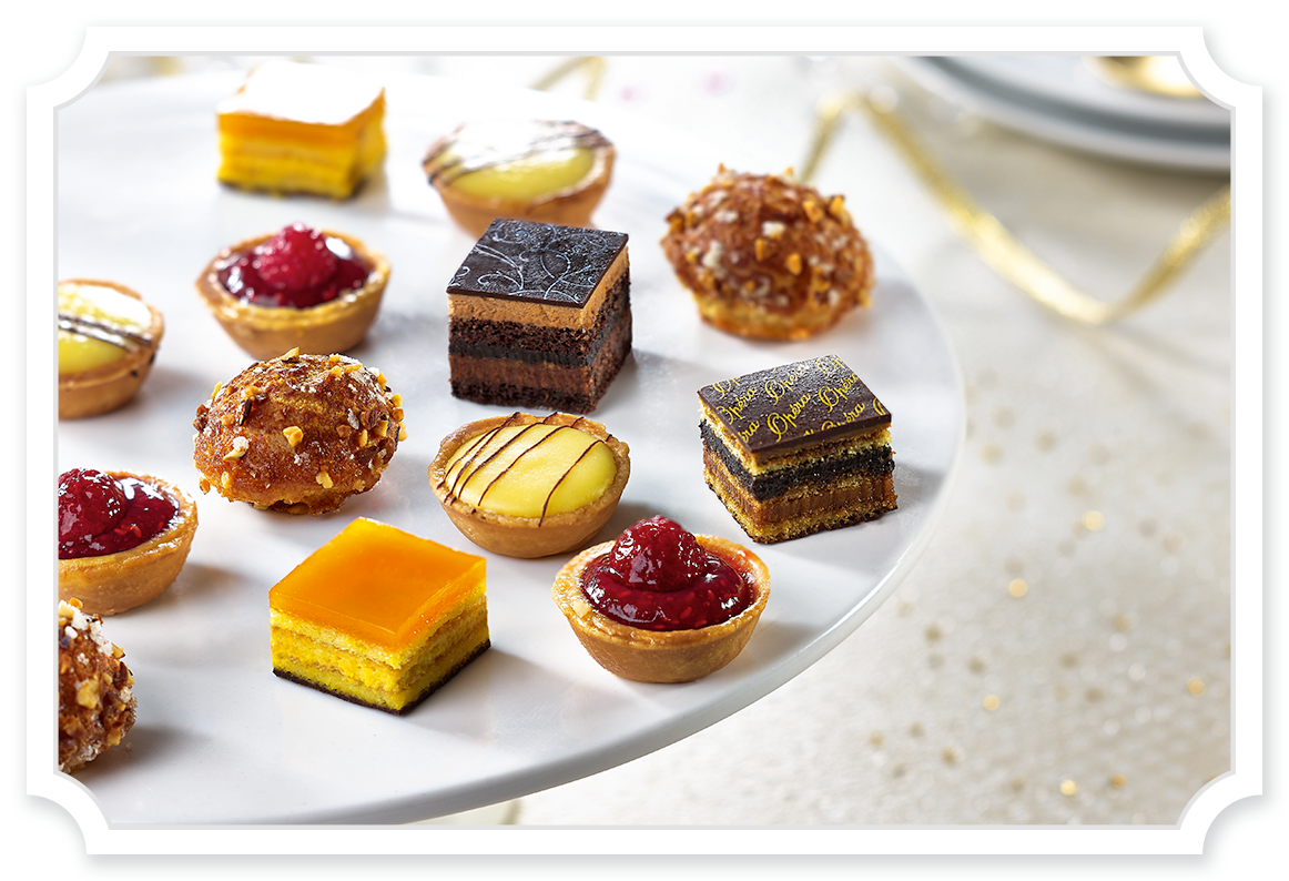 France clipart patisserie french. Petit fours tipiak foodservice