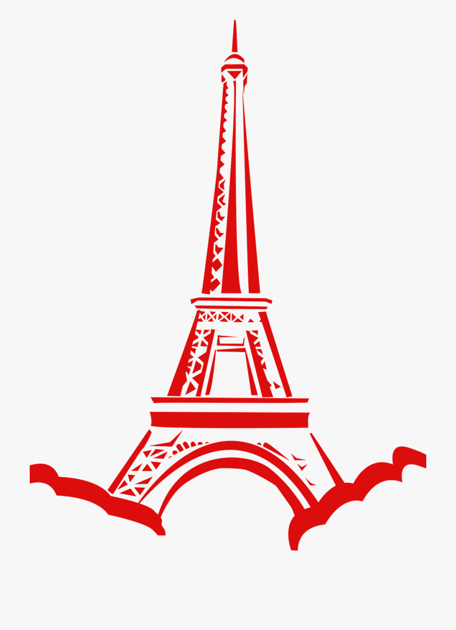 Paris Clipart Red Paris Red Transparent Free For Download On Webstockreview 2020