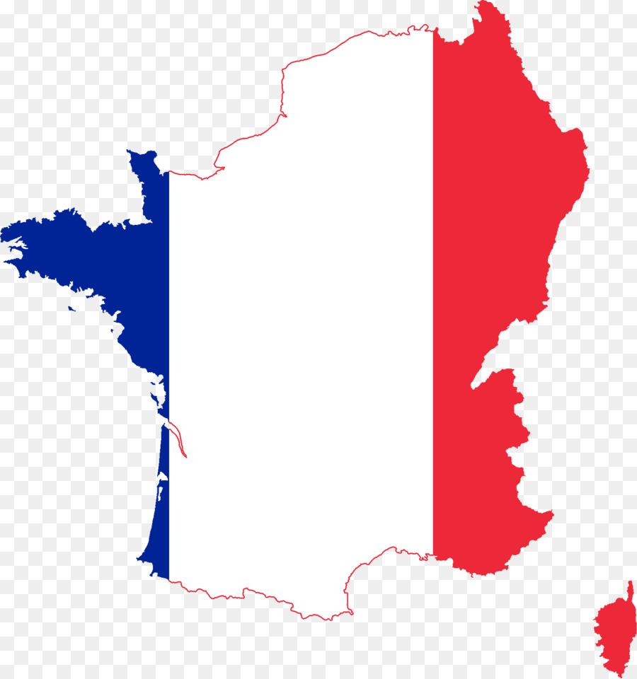 France clipart red. Flag map transparent clip