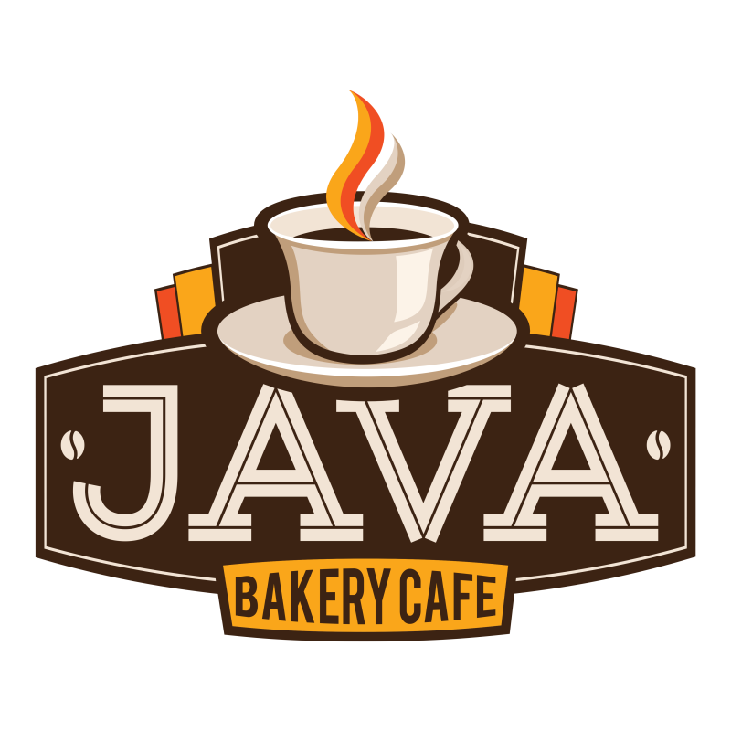 Java bakery cafe delivery. France clipart sourdough bread