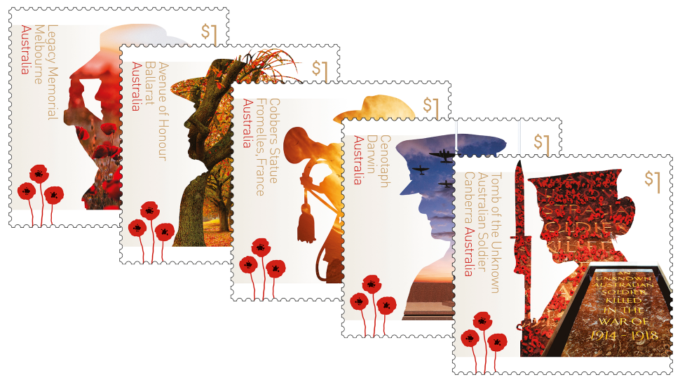 A century of service. France clipart stamp france