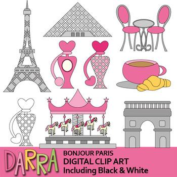 France clipart stuff. Paris bonjour clip art