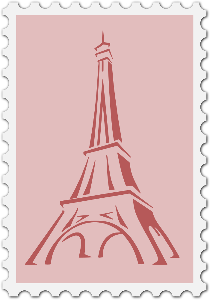 France clipart theme french. Onlinelabels clip art stamp