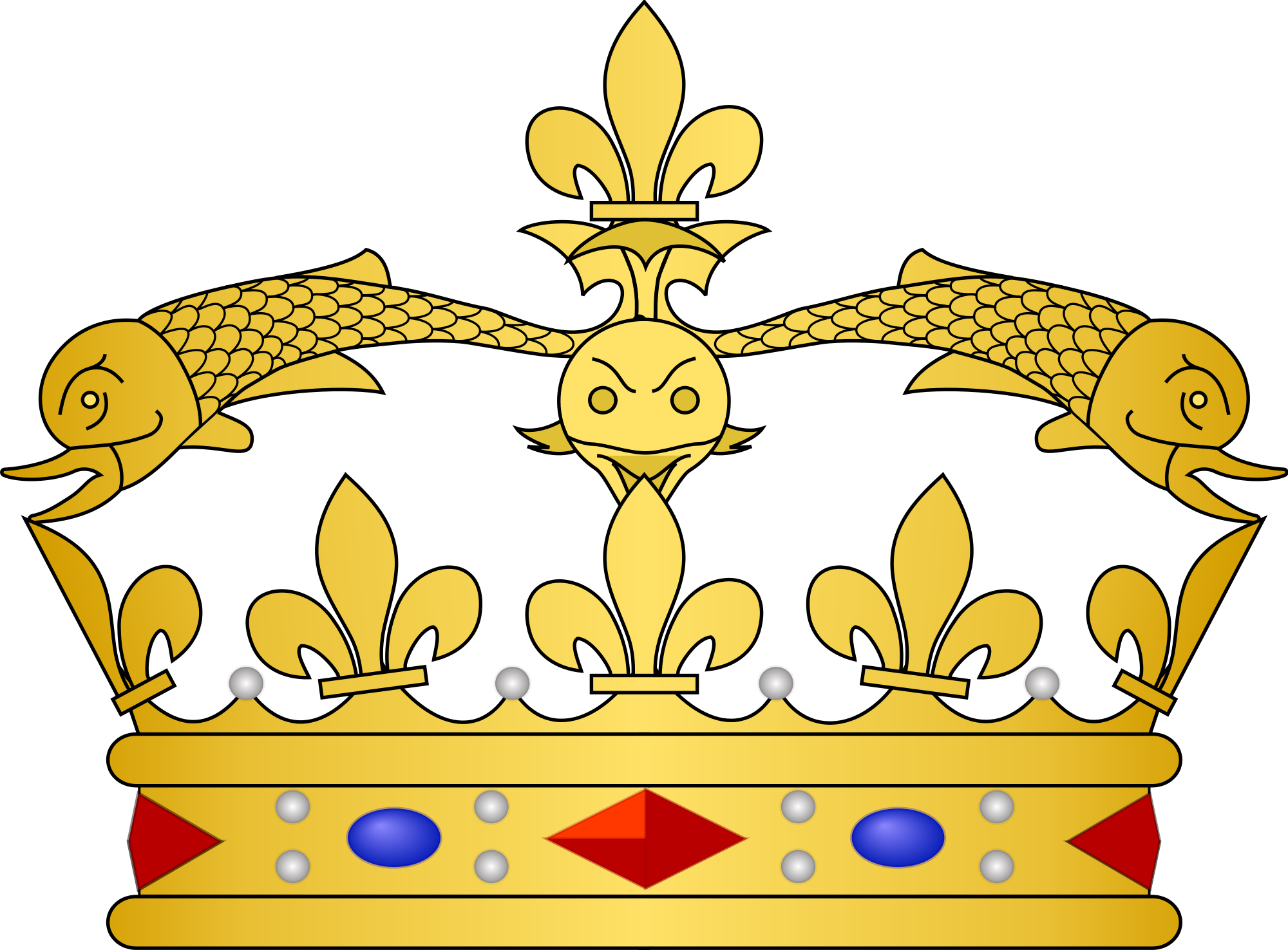 France clipart village french. File heraldic crowns dauphin