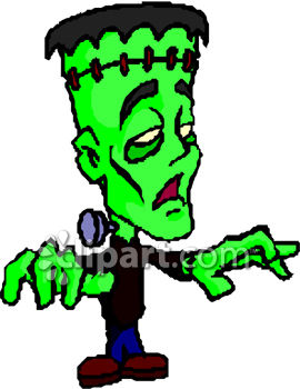 Monster . Frankenstein clipart