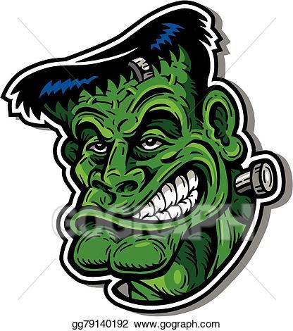 Frankenstein clipart. Clip art royalty free