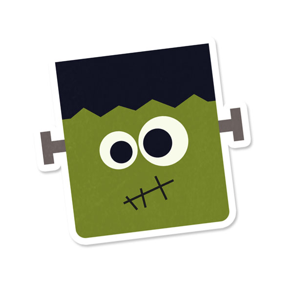 Frankenstein clipart baby. Cute images pictures becuo