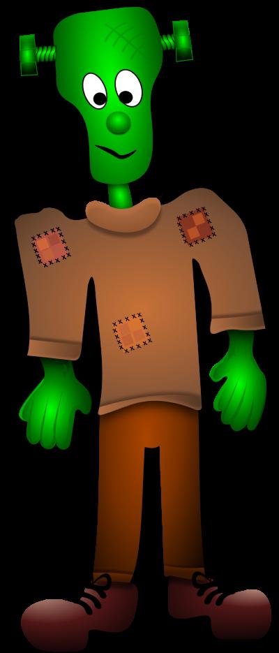 Frankenstein clipart baby. Clipartaz free collection cartoon