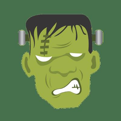 Frankenstein clipart cartoon frankenstein. Faces images gallery for