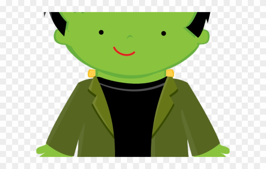 Halloween . Frankenstein clipart cute