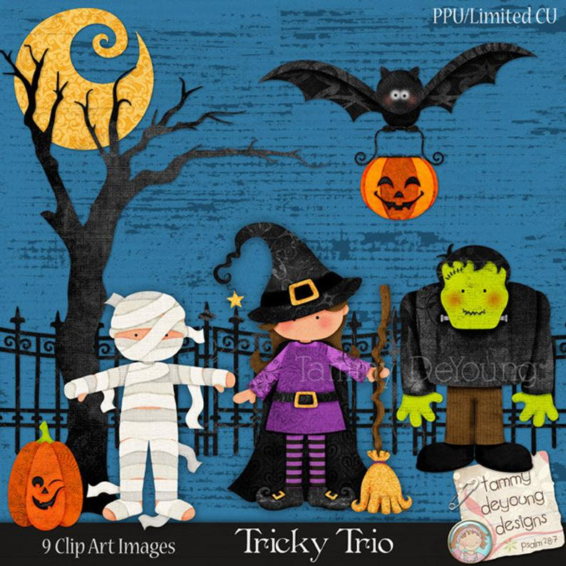 Clip art digital mummy. Frankenstein clipart cute halloween bat