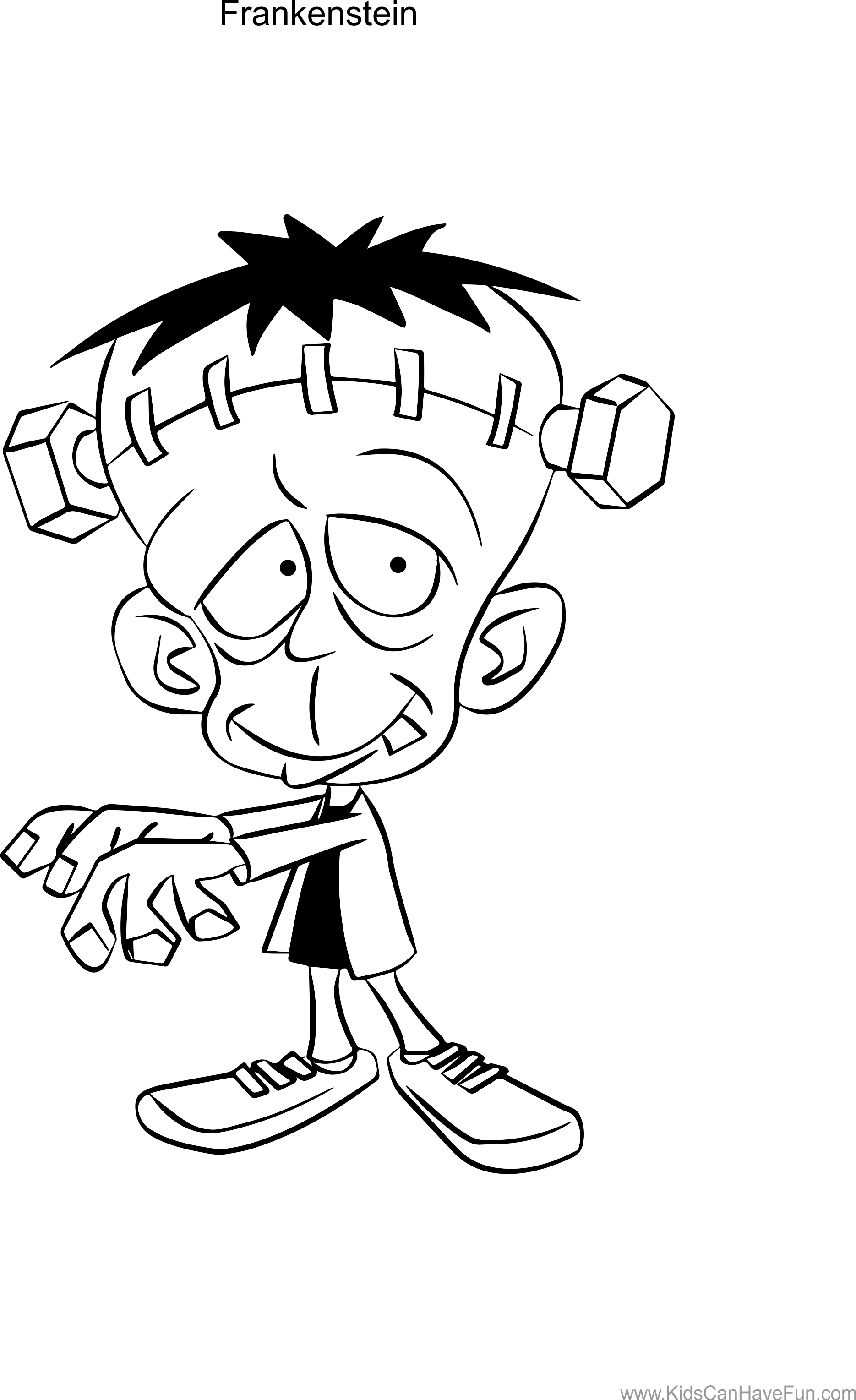 Stitch clipart frankenstein. Simple drawing at getdrawings