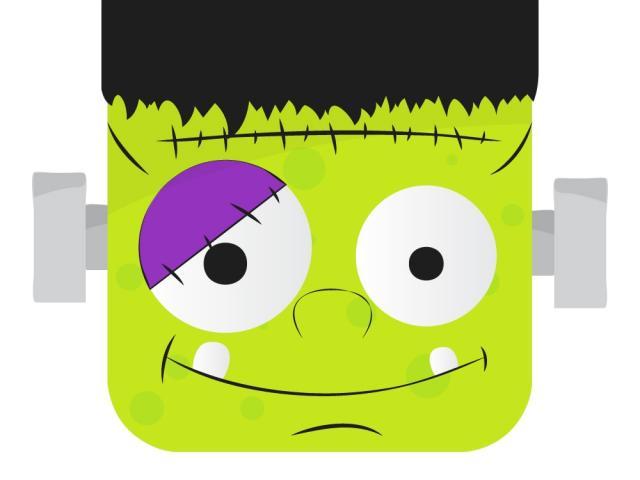 Frankenstein clipart easy. Free download clip art