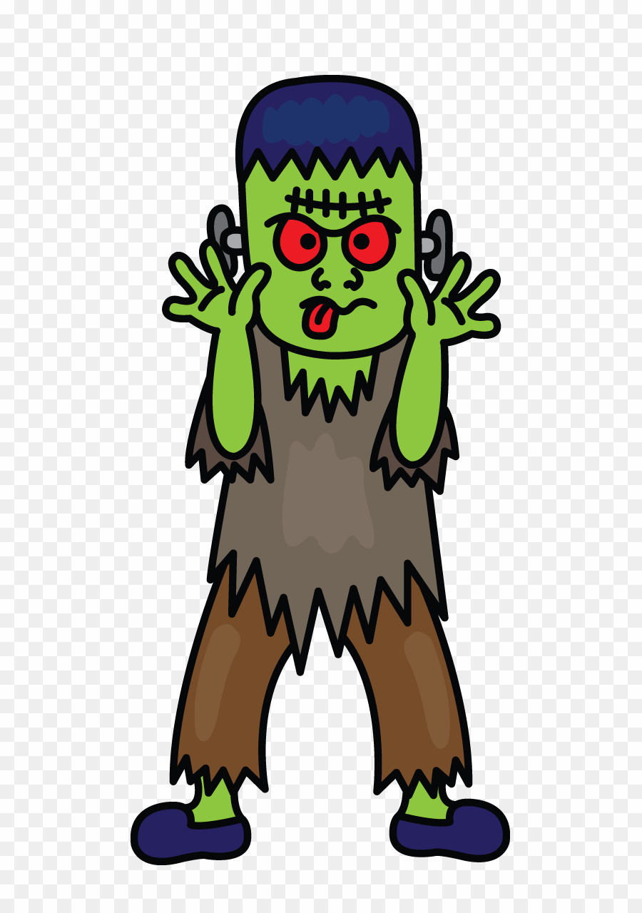 To draw png s. Frankenstein clipart easy