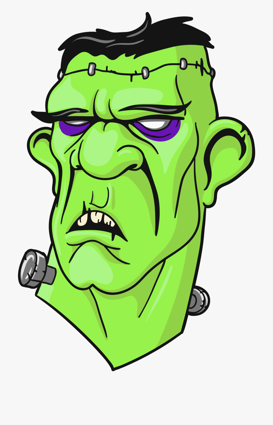 Frankenstein clipart easy. Head png michael myers