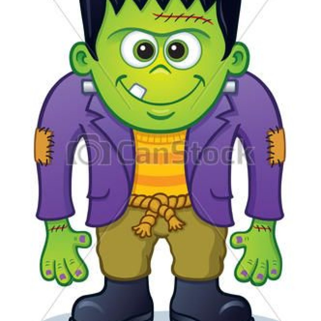 Cartoon drawing free download. Frankenstein clipart easy