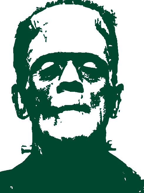Png pictures transparent hunter. Frankenstein clipart frankenstein and bride