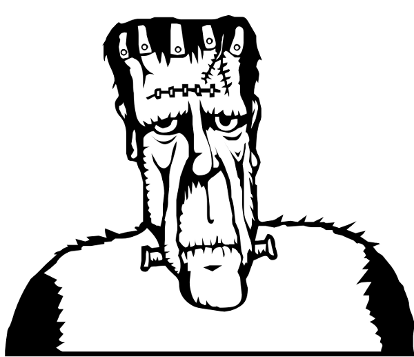 Drawing png photos. Frankenstein clipart frankenstein line