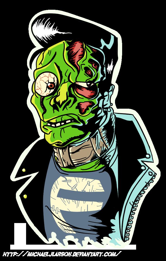 Teen by michaeljlarson on. Frankenstein clipart green
