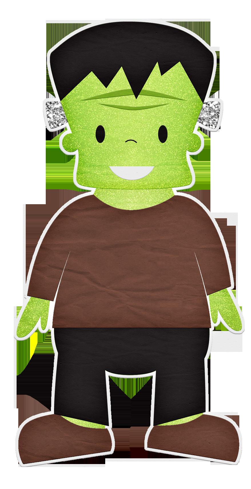 Frankenstein clipart green. Glitter silhouette pinterest