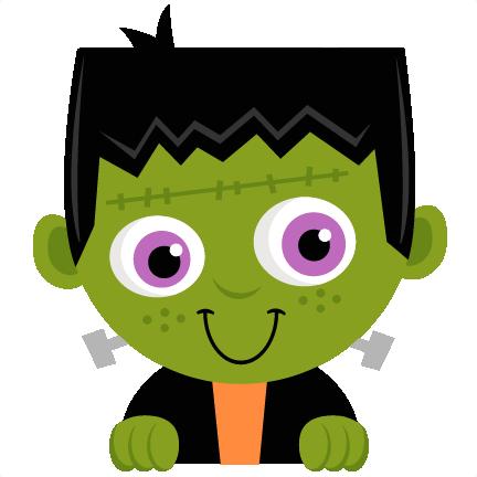 Frankenstein clipart halloween transparent background. Cute images gallery