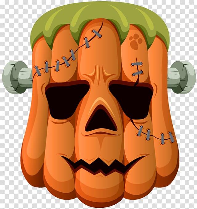 . Frankenstein clipart halloween transparent background
