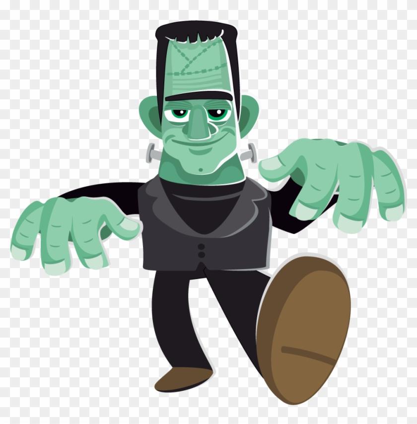 Frankenstein clipart halloween transparent background. Free to use