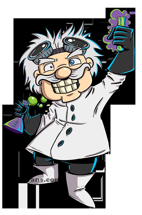 Victor mad scientist clip. Frankenstein clipart hand