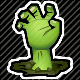Monster evil halloween . Frankenstein clipart hand