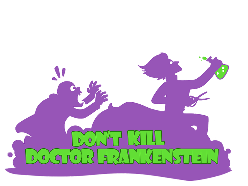 Frankenstein clipart lab. Dont kill doctor is