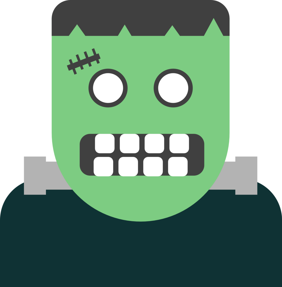 Frankenstein clipart modern. The method becoming a