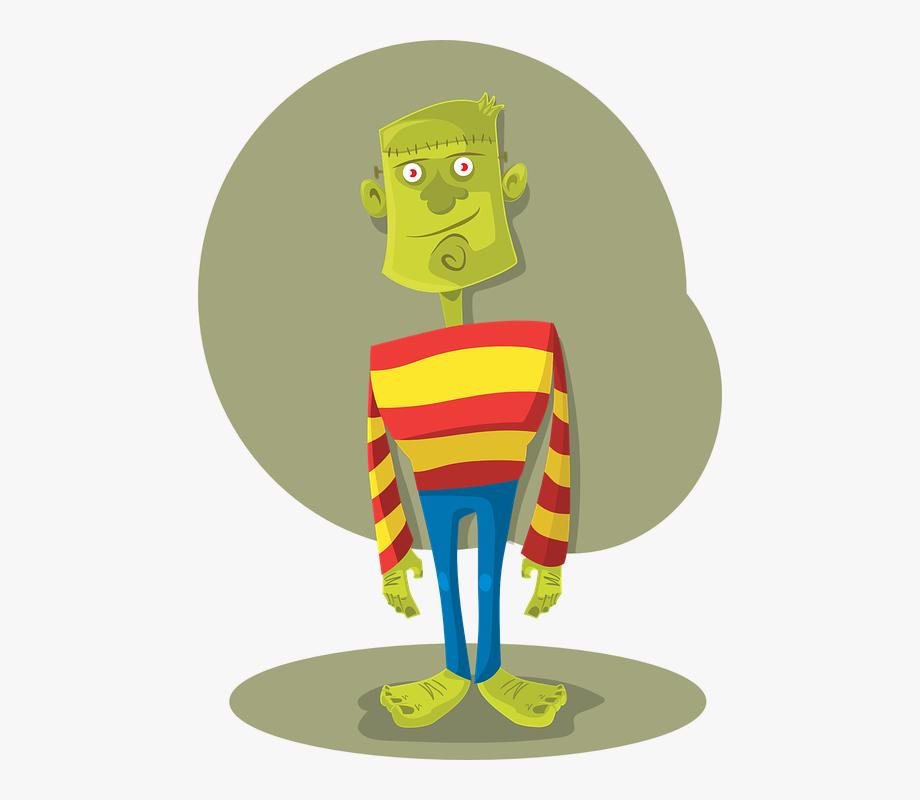 Frankenstein clipart modern.