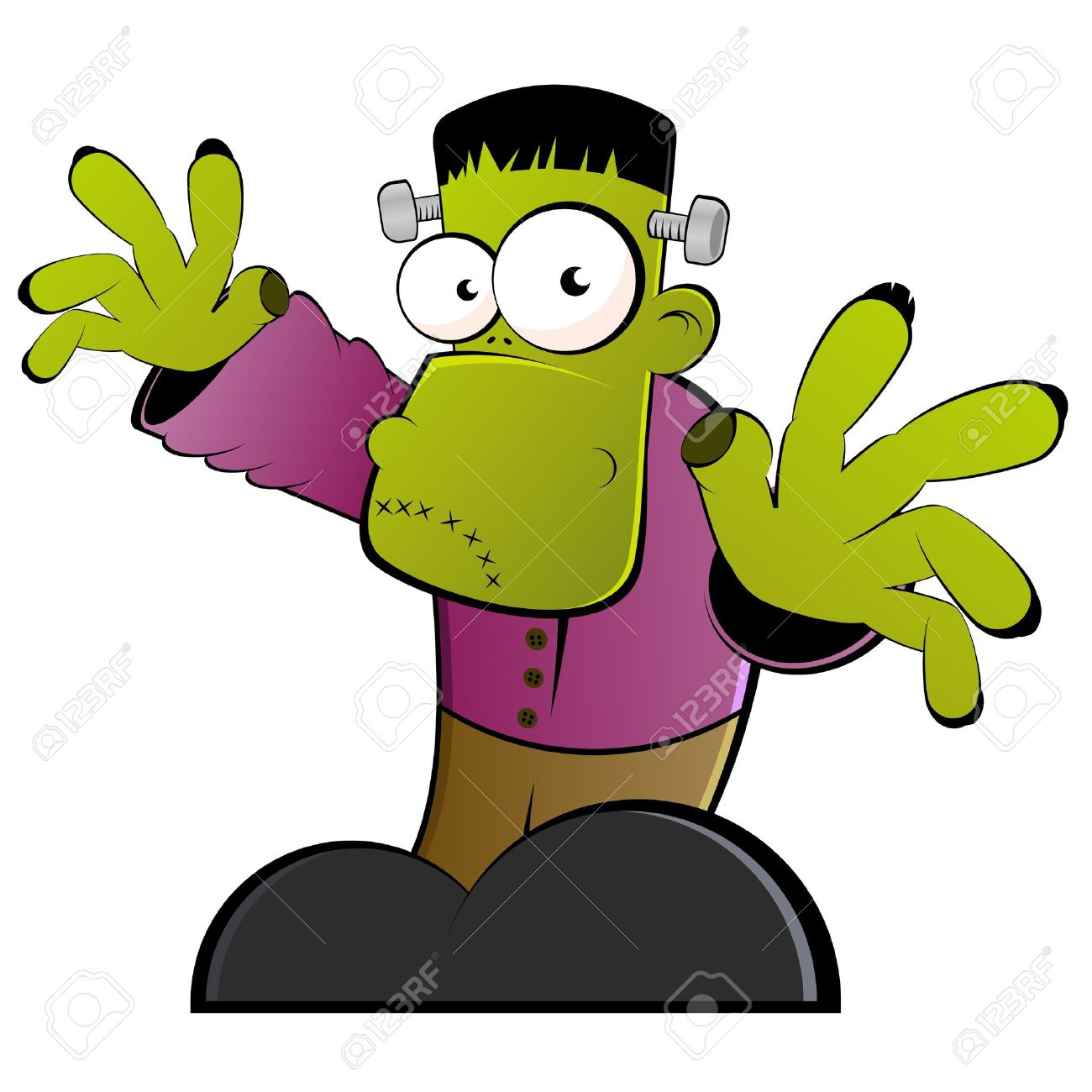 Halloween free download best. Frankenstein clipart monster