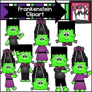 Frankenstein clipart purple. Build a halloween erin